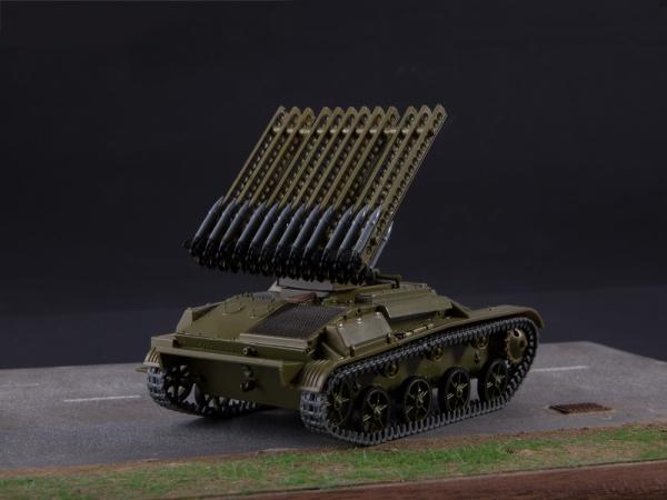 Macheta tanc rusesc T-60 cu rachete Katiusha, scara 1:43 2