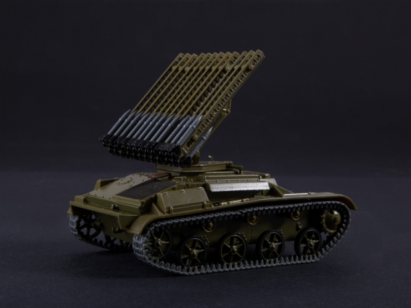Macheta tanc rusesc T-60 cu rachete Katiusha, scara 1:43 0