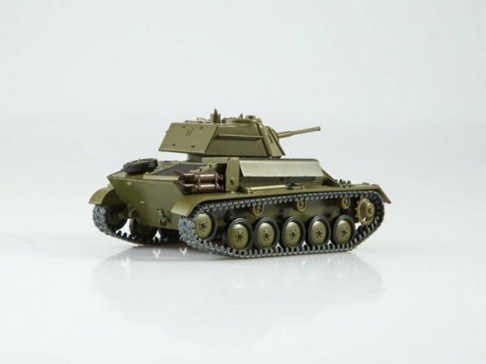 Macheta tanc rusesc T-80, scara 1:43 1