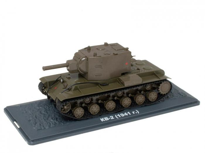 Macheta tanc rusesc KV-2 din 1941, scara 1:43 [0]