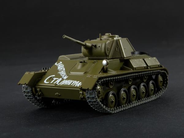 Macheta tanc rusesc T-70 scara 1:43 0