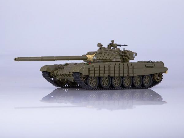Macheta tanc rusesc T-72B, scara 1:43 0
