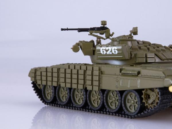 Macheta tanc rusesc T-72B, scara 1:43 2