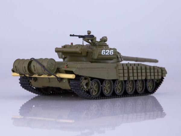 Macheta tanc rusesc T-72B, scara 1:43 1