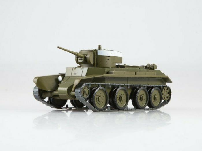 Macheta tanc rusesc BT-7, scara 1:43 [0]
