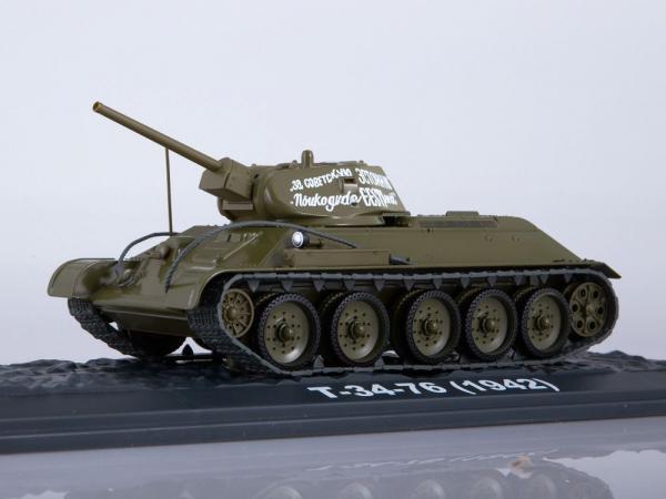Macheta tanc rusesc T34-76, scara 1:43 4