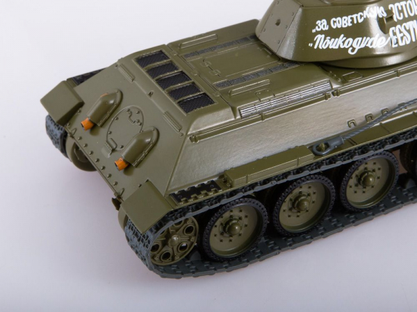 Macheta tanc rusesc T34-76, scara 1:43 3