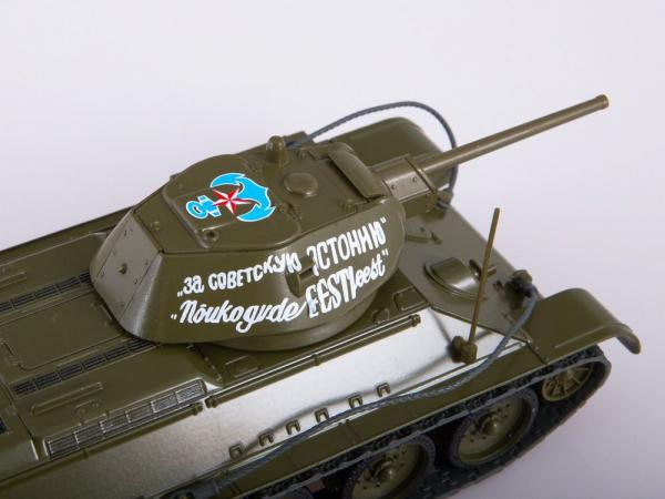 Macheta tanc rusesc T34-76, scara 1:43 2