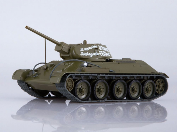 Macheta tanc rusesc T34-76, scara 1:43 0