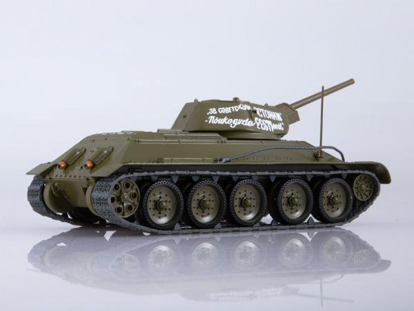 Macheta tanc rusesc T34-76, scara 1:43 1