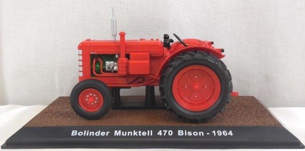 Macheta tractor Bolinder Munktell 470 Bison, scara 1:32 0