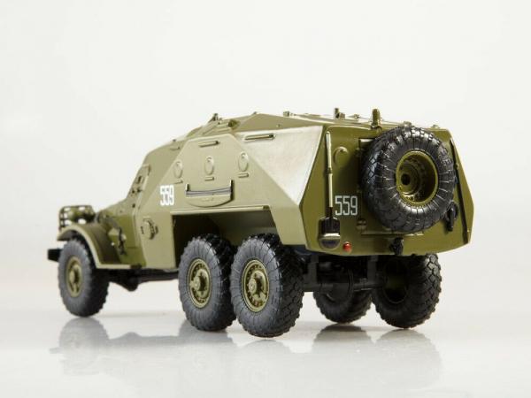 Macheta transportor blindat rusesc BTR-152, scara 1:43 2