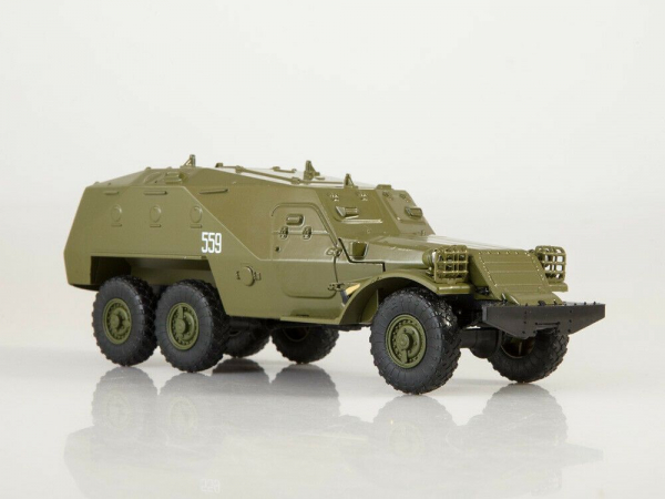 Macheta transportor blindat rusesc BTR-152, scara 1:43 0