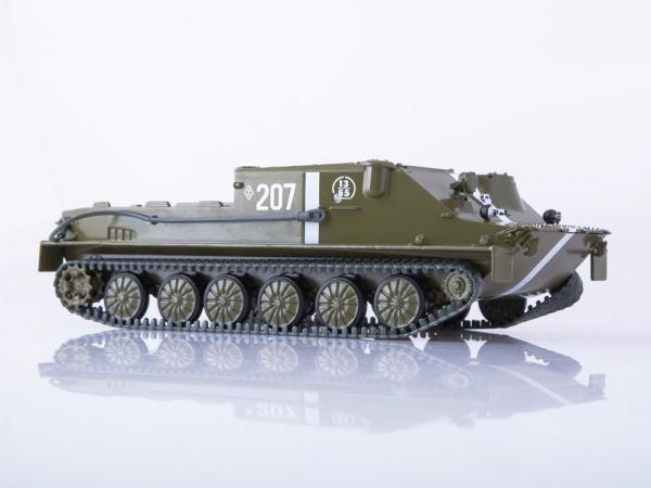 Macheta transportor blindat rusesc BTR-50, scara 1:43 0