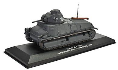 Macheta tanc german Pz. Kpfw. 35-S 739, scara 1:43 0