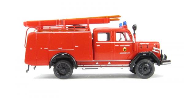 Macheta masina pompieri Magirus 150D 10 F TLF16, scara 1:43 2