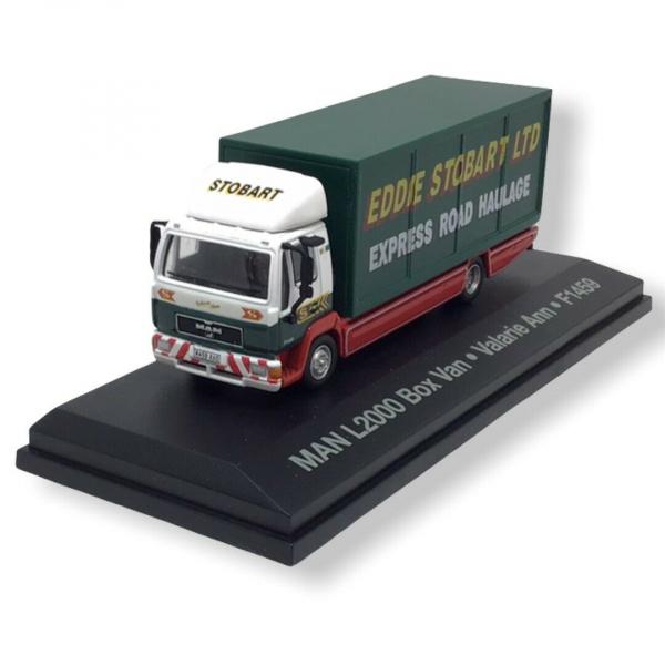 Macheta auto camion MAN L2000, scara 1:76 0