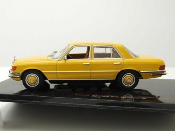 Macheta auto Mercedes Benz 450SEL (W118), scara 1:43 4