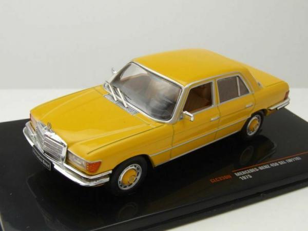 Macheta auto Mercedes Benz 450SEL (W118), scara 1:43 3