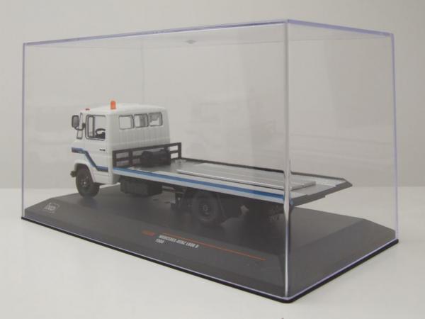 Macheta platforma depanare auto Mercedes L608D, scara 1:43 3
