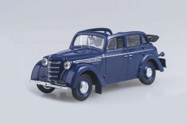 Macheta auto Moskwitch 400-420 cabrio, scara 1:43 0