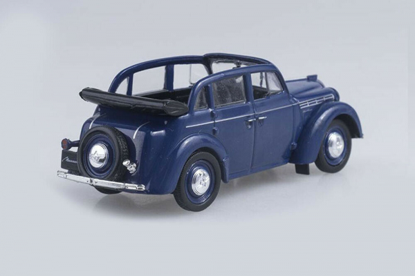 Macheta auto Moskwitch 400-420 cabrio, scara 1:43 1