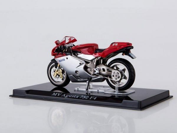 Macheta motocicleta MV Augusta 750 F4, scara 1:24 2