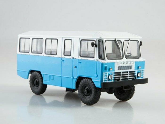 Macheta autobuz APP-66, scara 1:43 0