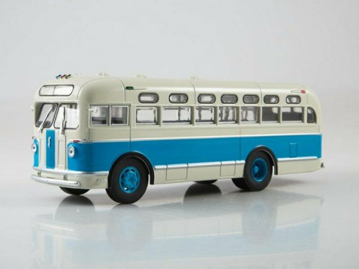 Macheta autobuz ZIS-155, scara 1:43 3