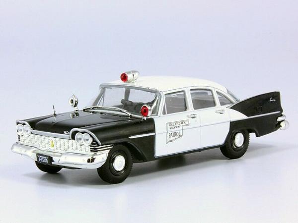 Macheta auto Plymouth Savoy, politia din Oklahoma, scara 1:43 0