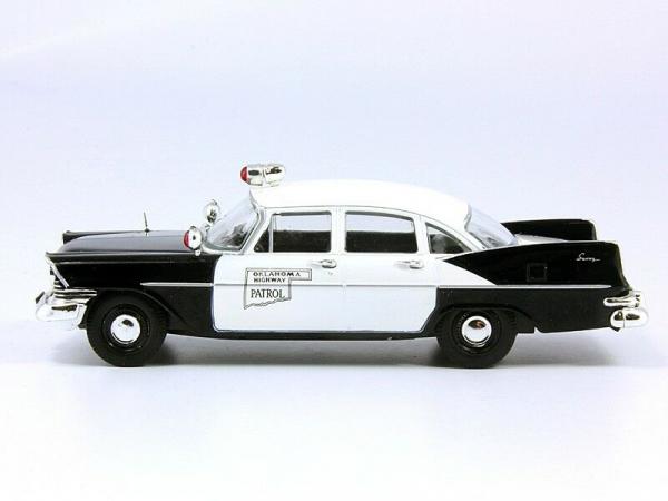 Macheta auto Plymouth Savoy, politia din Oklahoma, scara 1:43 2