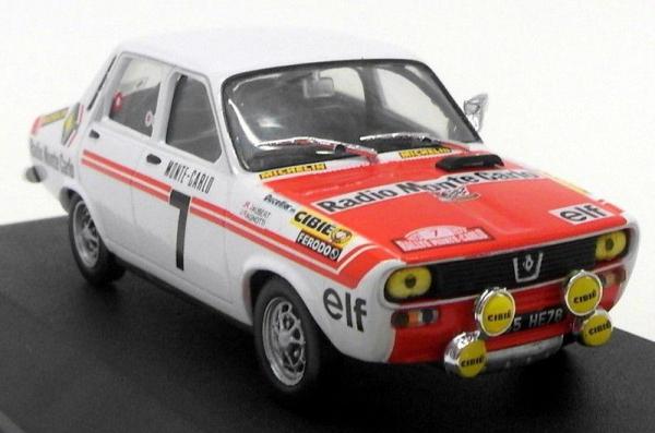 Macheta auto Renault 12 Gordini #7, scara 1:43 0
