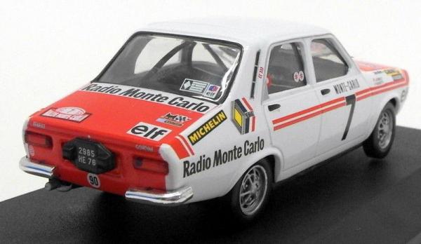 Macheta auto Renault 12 Gordini #7, scara 1:43 1