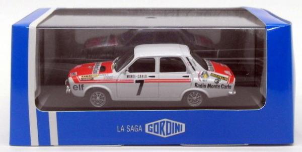 Macheta auto Renault 12 Gordini #7, scara 1:43 3