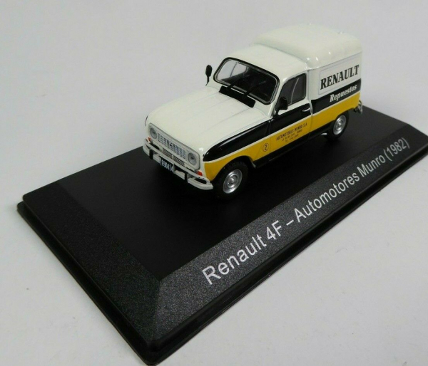 Macheta auto furgoneta Renault 4f, scara 1:43 0
