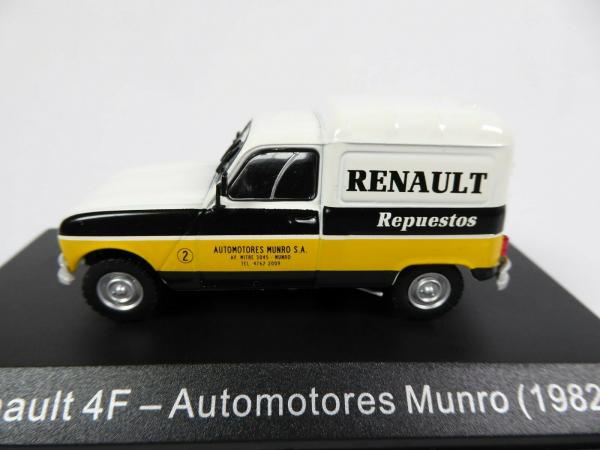 Macheta auto furgoneta Renault 4f, scara 1:43 1