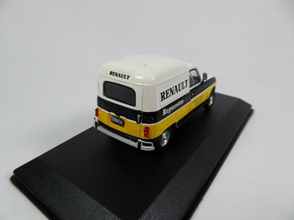 Macheta auto furgoneta Renault 4f, scara 1:43 2
