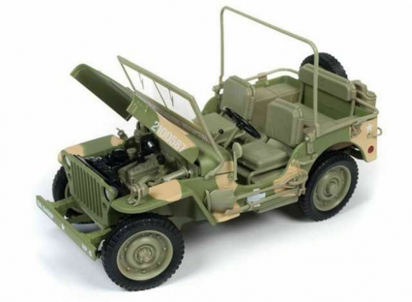 Macheta auto Jeep Willys 1941, scara 1:18 2