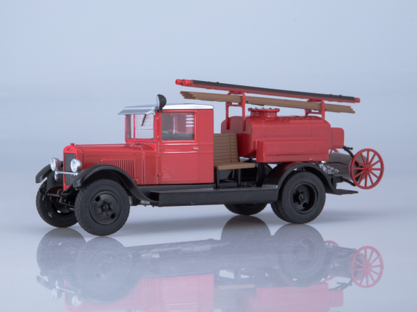 Macheta autospeciala pompieri PMZ-2 (ZIS 5) scara 1:43 0