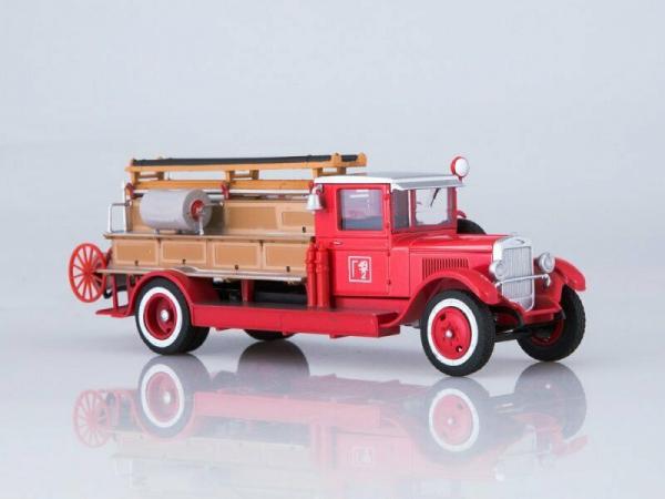 Macheta autospeciala pompieri PMZ-1 (ZIS 11) scara 1:43 0