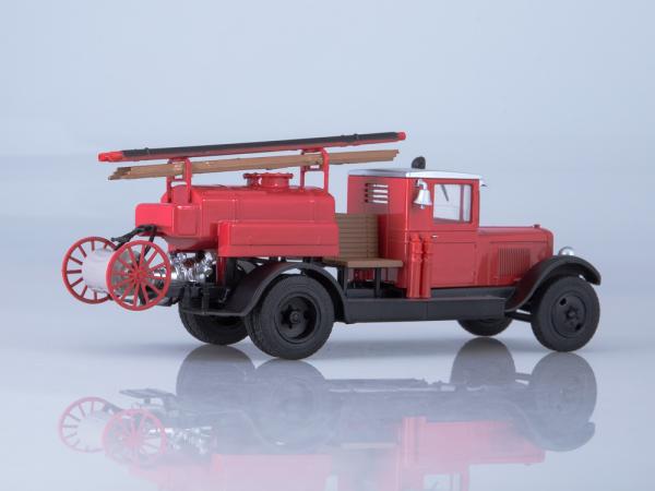 Macheta autospeciala pompieri PMZ-2 (ZIS 5) scara 1:43 1
