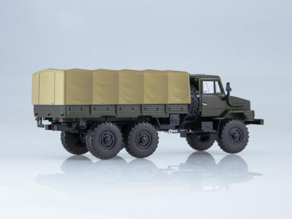 Macheta camion cu prelata Ural 4322, scara 1:43 [1]