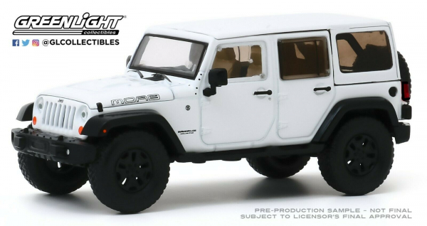 Macheta auto Jeep Wrangler Unlimited 2013 Moab Edition, scara 1:43 0