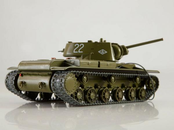 Macheta tanc rusesc KV-1, scara 1:43 1