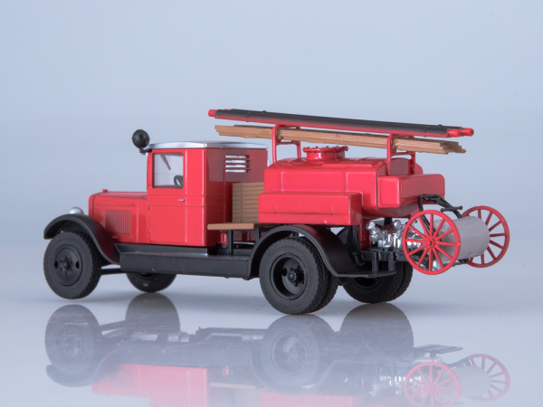 Macheta autospeciala pompieri PMZ-2 (ZIS 5) scara 1:43 2