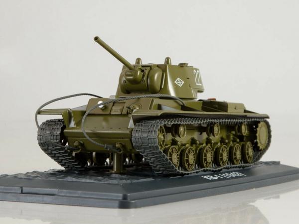 Macheta tanc rusesc KV-1, scara 1:43 2