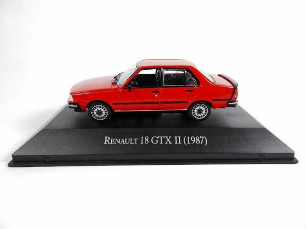Macheta auto Renault 18 gtx, scara 1:43 0