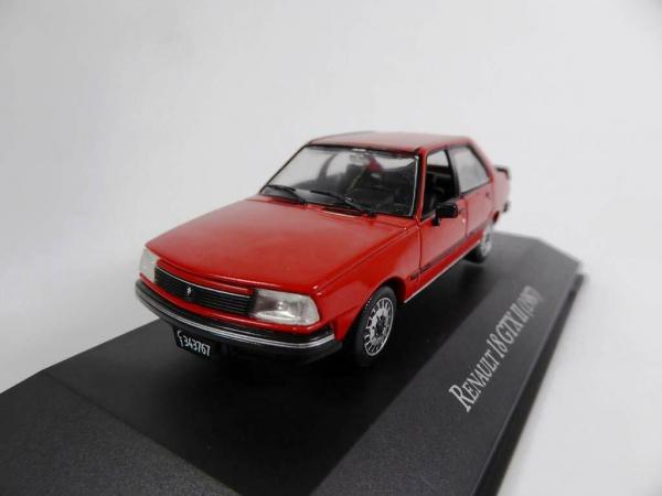 Macheta auto Renault 18 gtx, scara 1:43 1