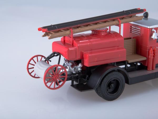 Macheta autospeciala pompieri PMZ-2 (ZIS 5) scara 1:43 4