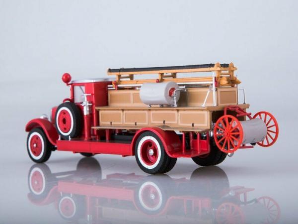 Macheta autospeciala pompieri PMZ-1 (ZIS 11) scara 1:43 5